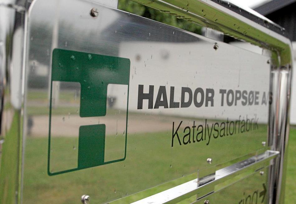 Poul Sejr Nielsen tildelt teknikentreprise Haldor Topsøe