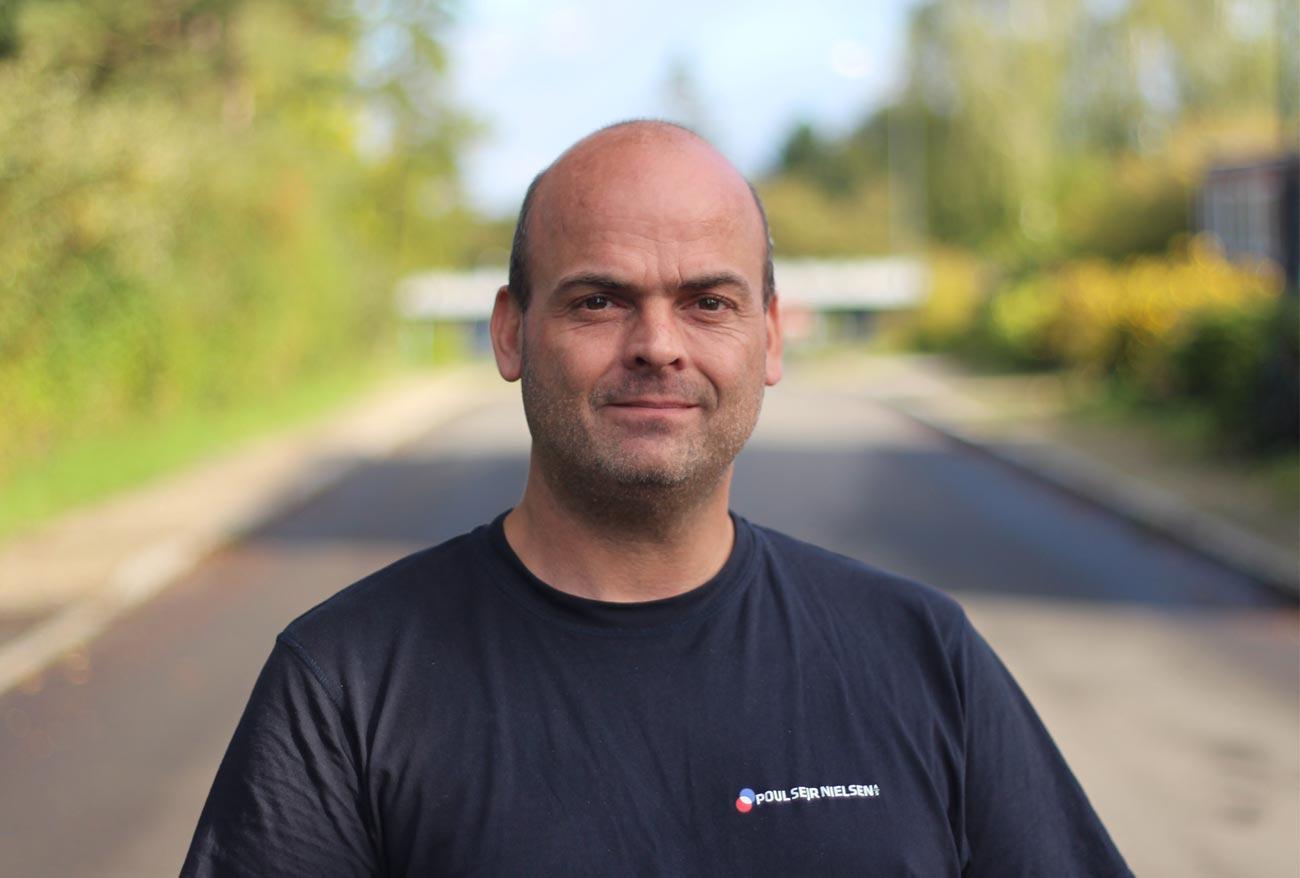 Kasper Bruun Elektriker Poul Sejr Nielsen