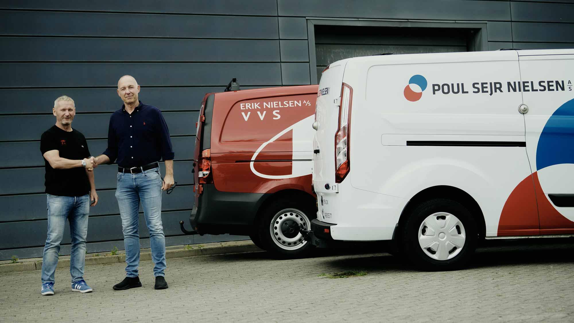 Poul Sejr Nielsen opkøber Erik Nielsen VVS A/S
